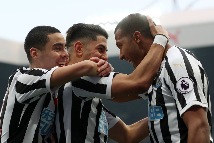 Newcastle United v Huddersfield Town