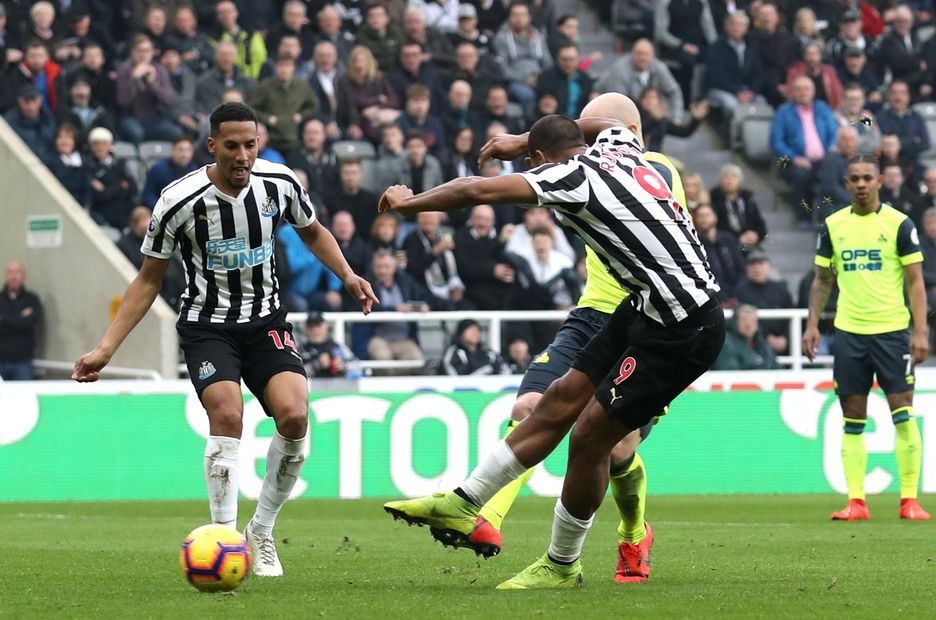 Newcastle United 2-0 Huddersfield Town