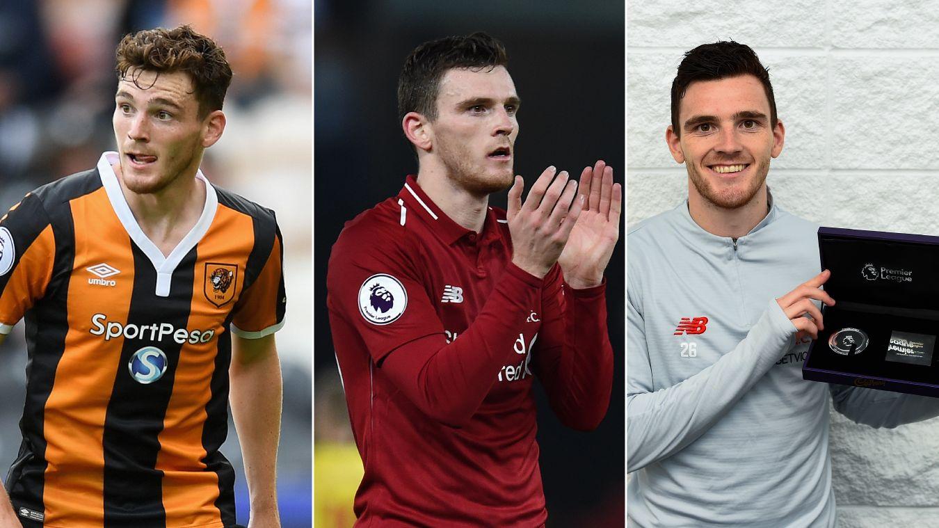Premier League Milestones, Andrew Robertson