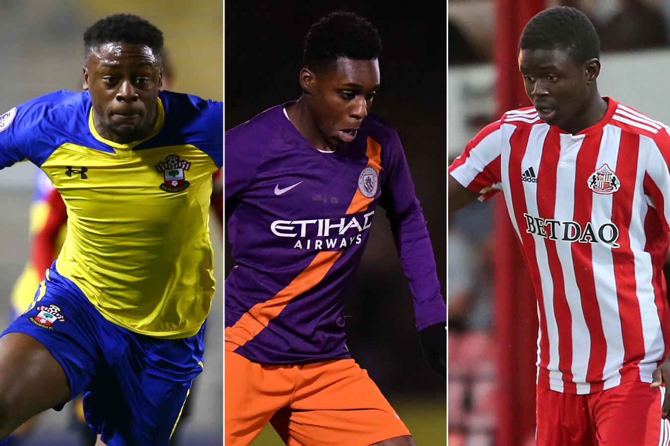 February PL2 POTM: Jonathan Afolabi (Southampton), Jeremie Frimpong (Manchester City), Benjamin Mbunga-Kimpioka (Sunderland)