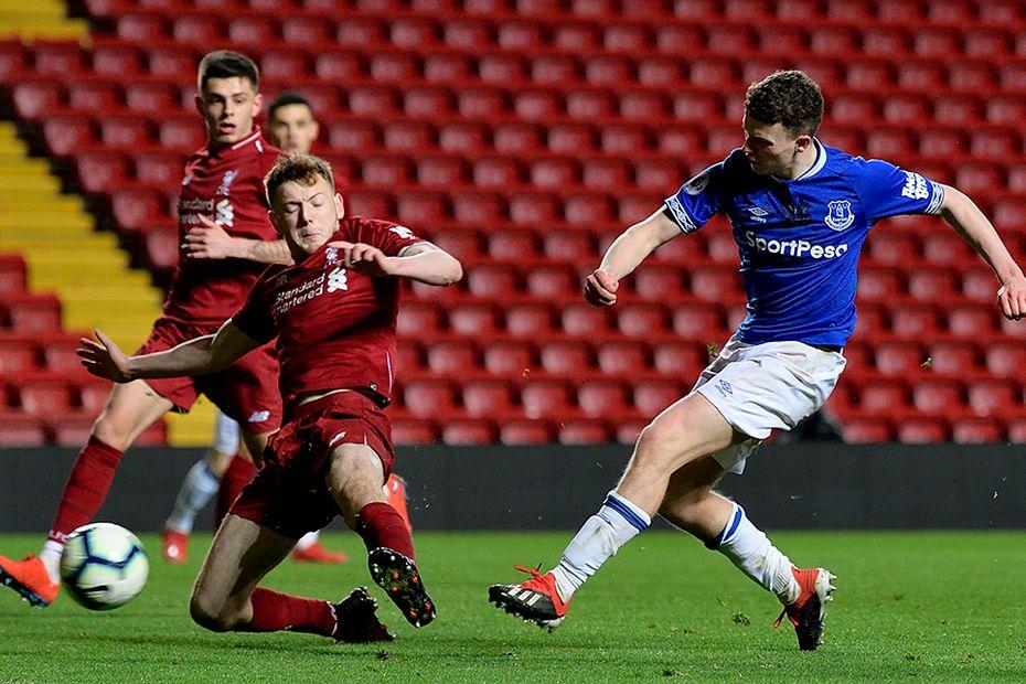 Nathan Broadhead, Liverpool v Everton