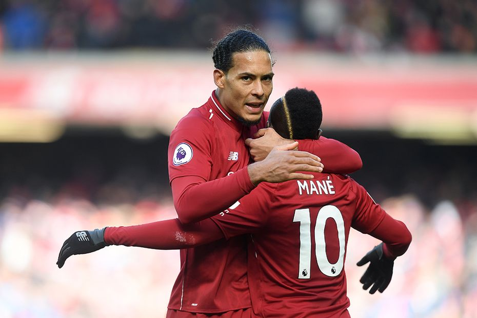 Virgil van Dijk and Sadio Mane, Liverpool