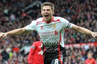 On This Day - 16 March 2014: Gerrard shines at Old Trafford