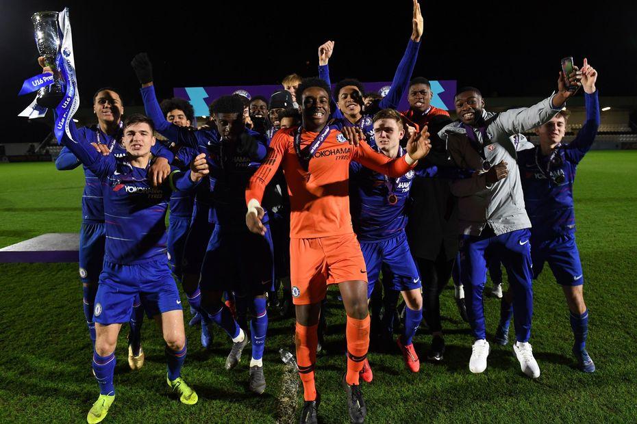 Chelsea U16 PL Cup champions