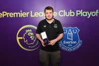 'I was playing bedroom FIFA, now I represent Everton'