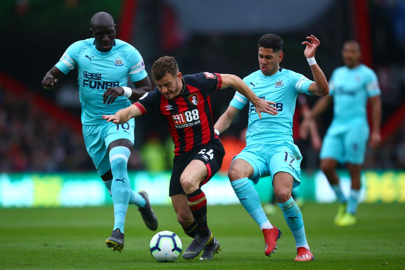 Ryan Fraser, BOUNEW action
