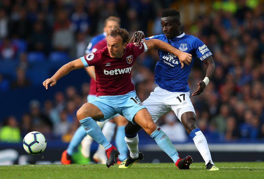 Mark Noble v Idrissa Gueye