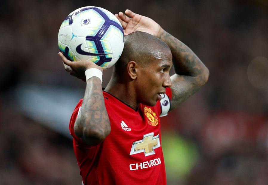 Ashley Young, Man Utd