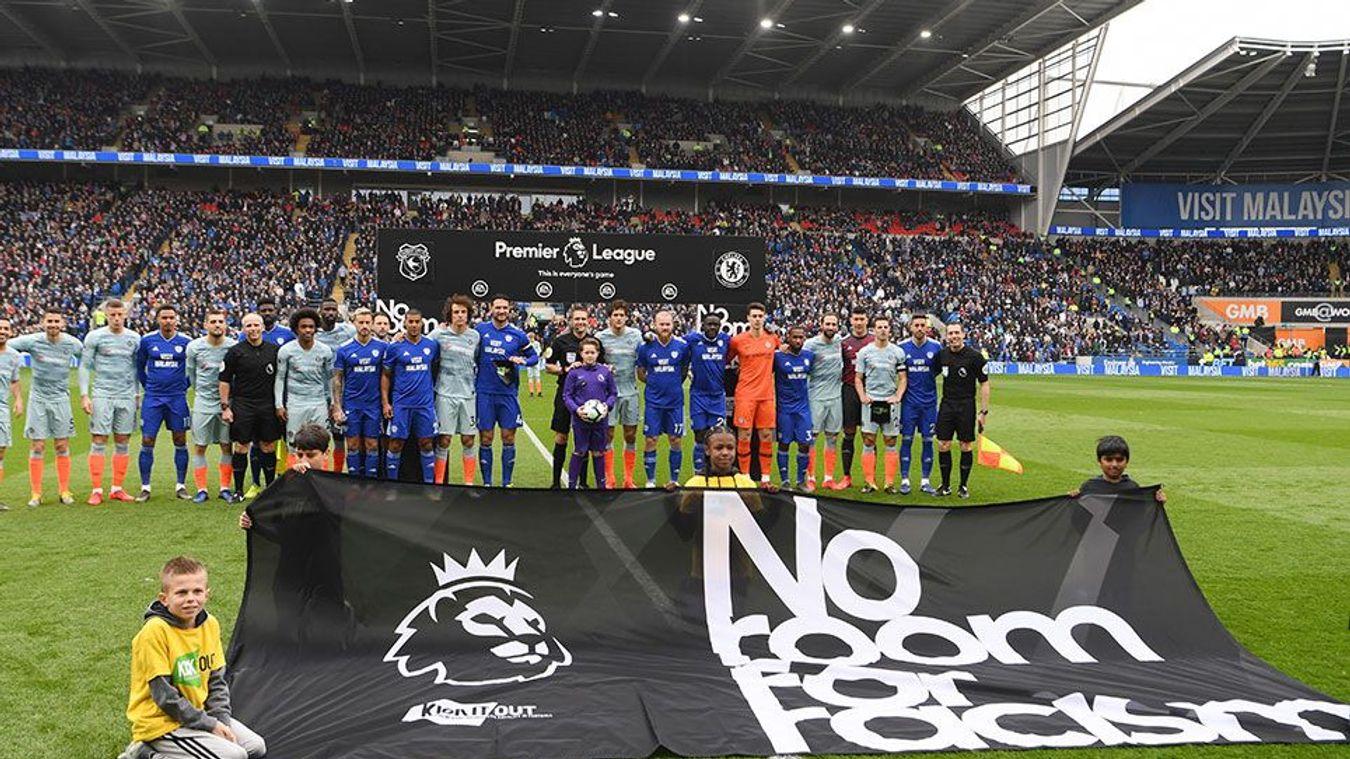 Premier League Clubs: Premier League's No Room For Racism Campaign