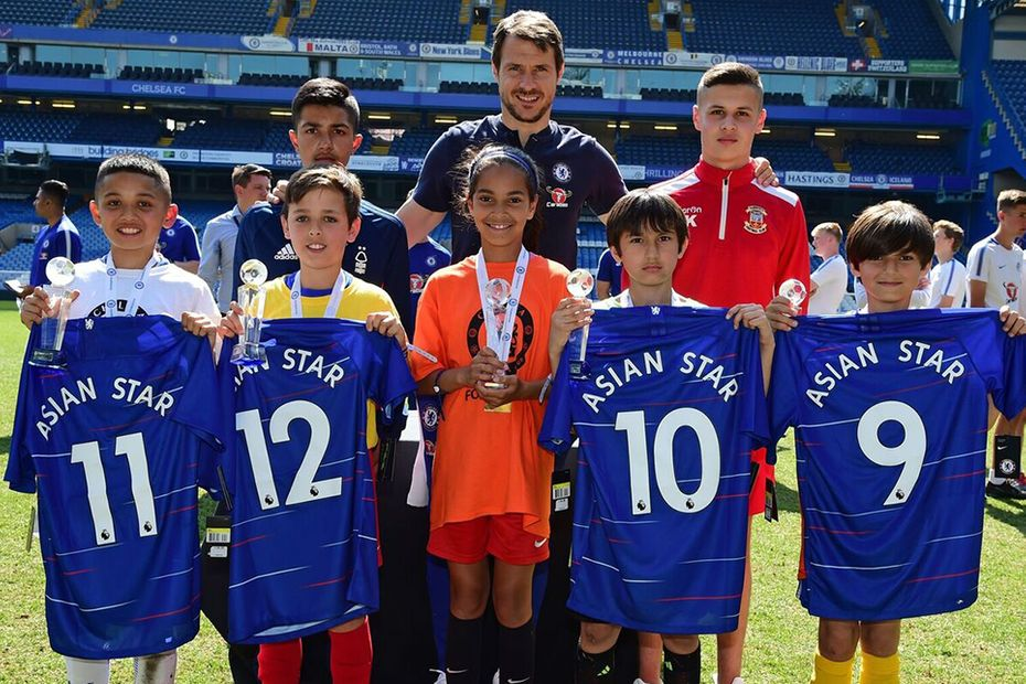 Chelsea's Asian Star event at Stamford Bridge