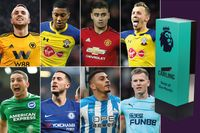 Carling Goal of the Month nominees for March
