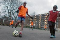 Fulham using PL Kicks to inpire young people