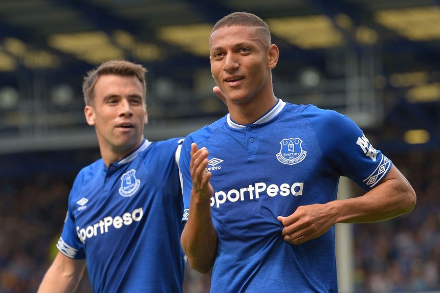 Richarlison and Coleman
