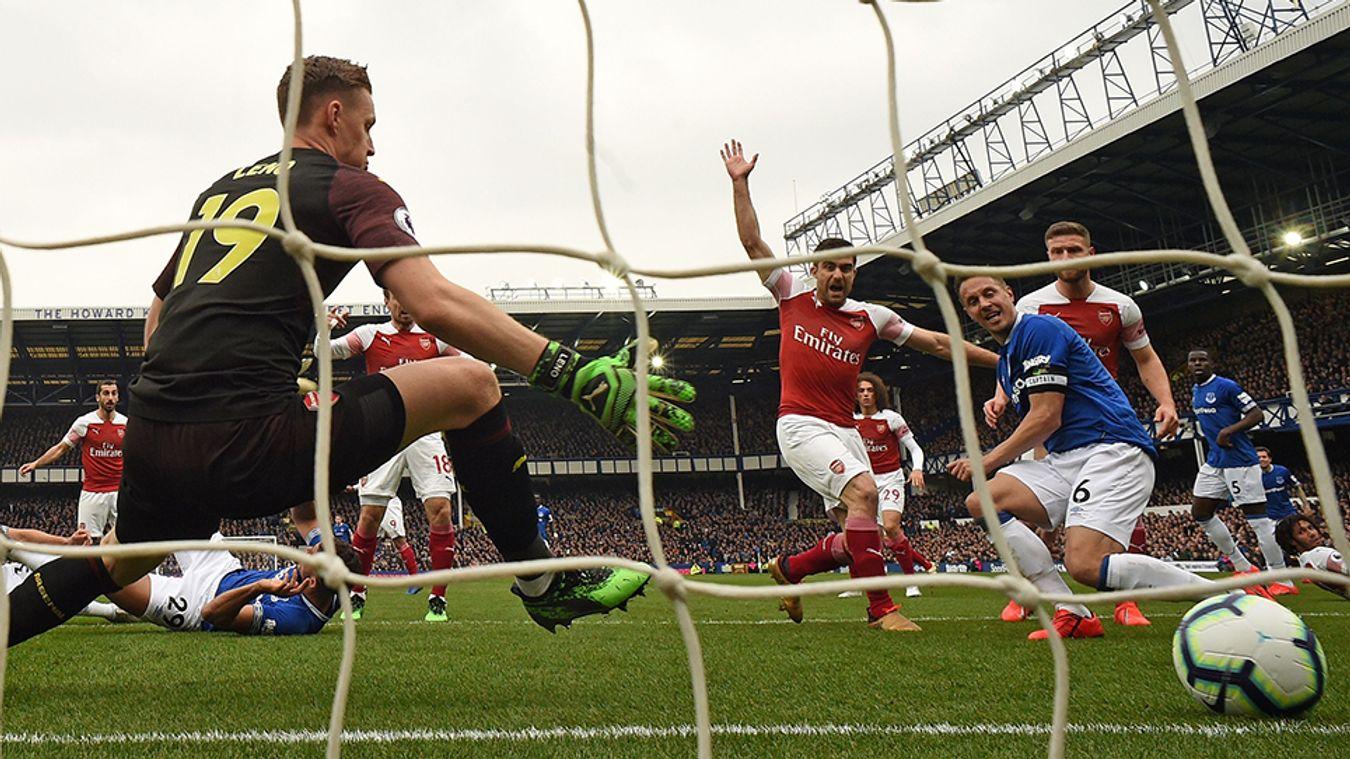 Everton 1-0 Arsenal
