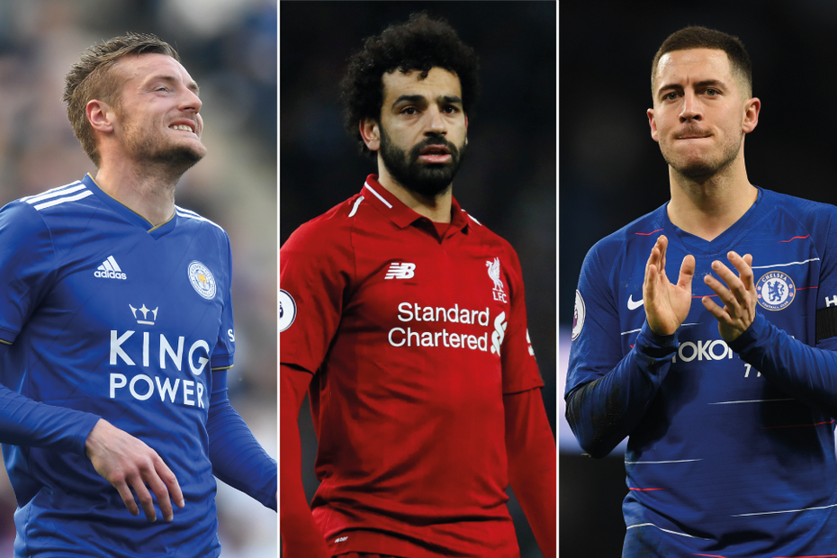 Vardy, Salah and Hazard