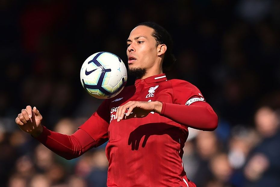 Imperious Van Dijk In A League Of His Own