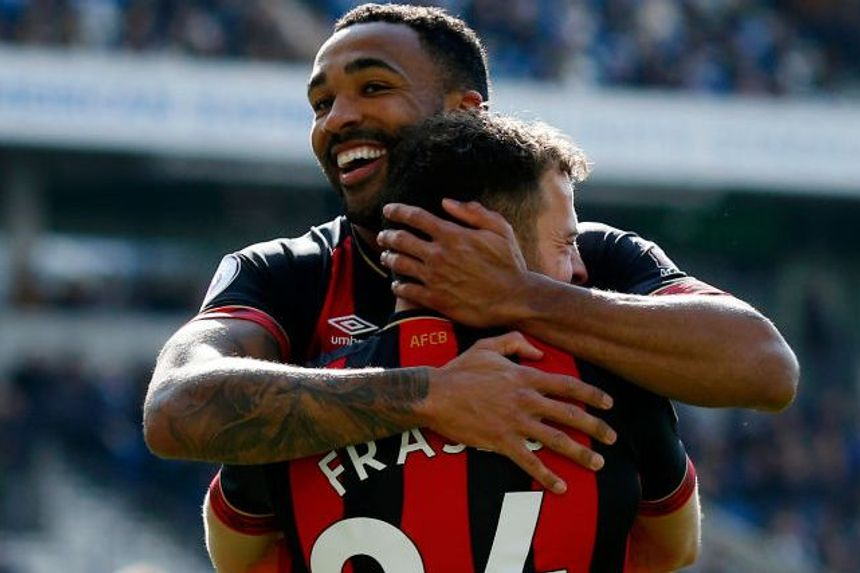 Callum Wilson and Ryan Fraser, AFC Bournemouth