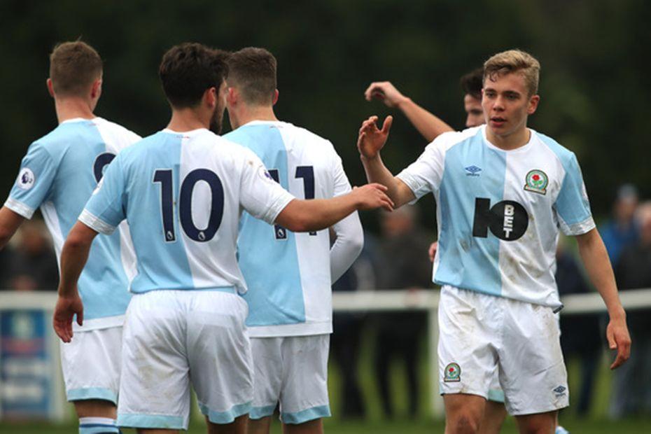 Blackburn's PL2 players celebrate