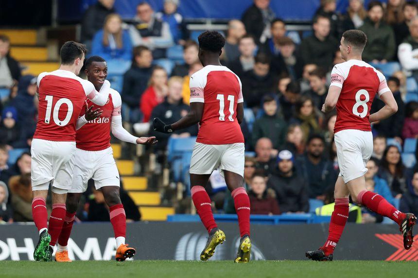 Chelsea v Arsenal, PL2
