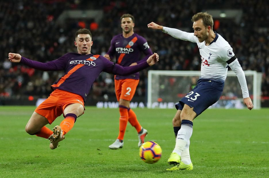 Christian Eriksen v Man City