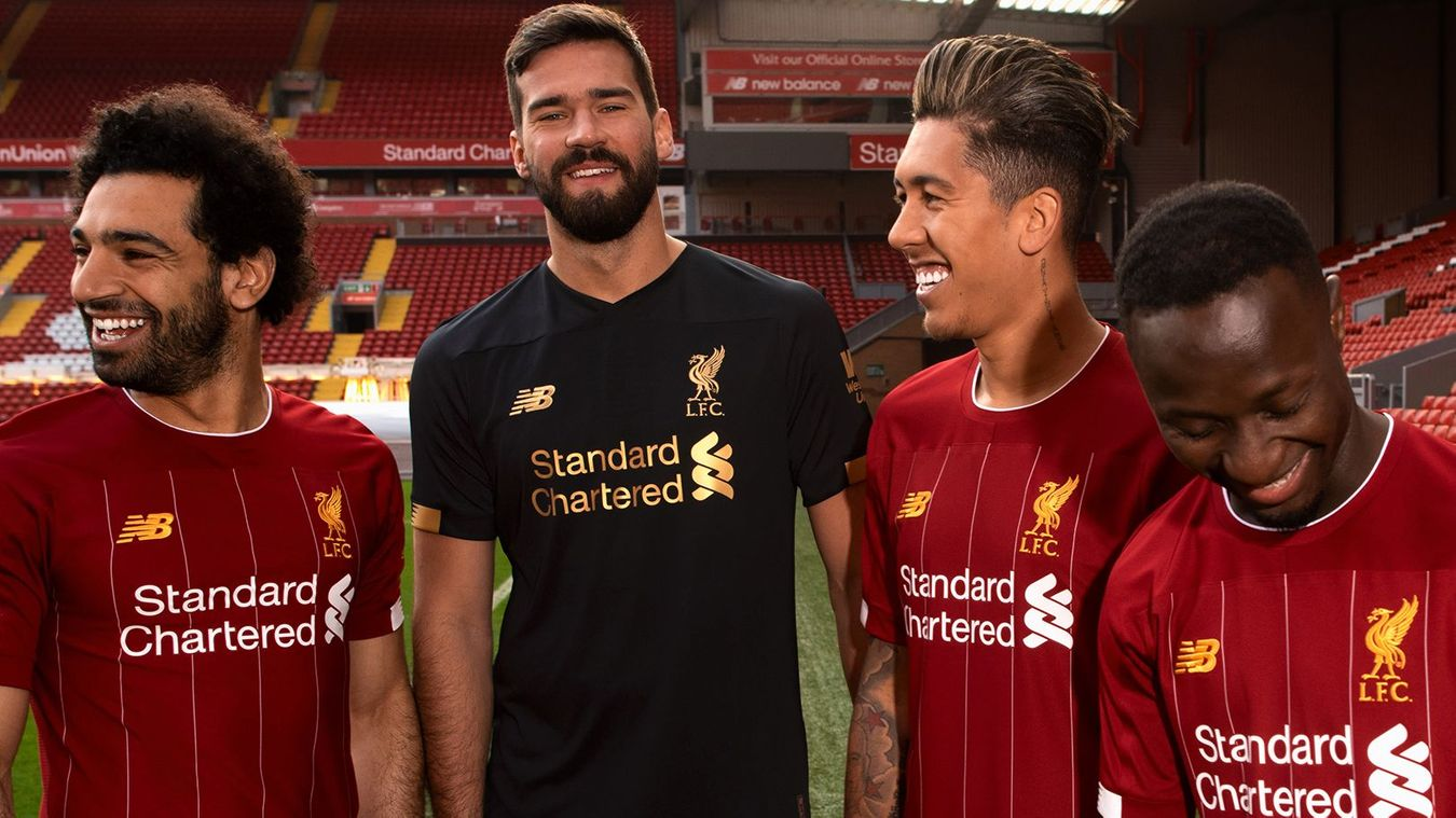Liverpool's home kit for 2018/19