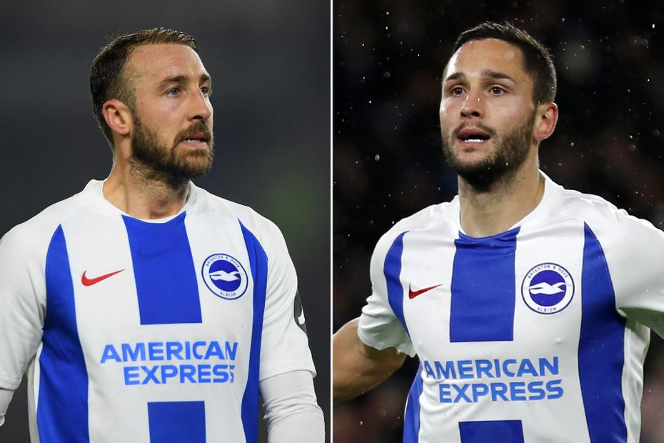 Glenn Murray and Florin Andone, Brighton