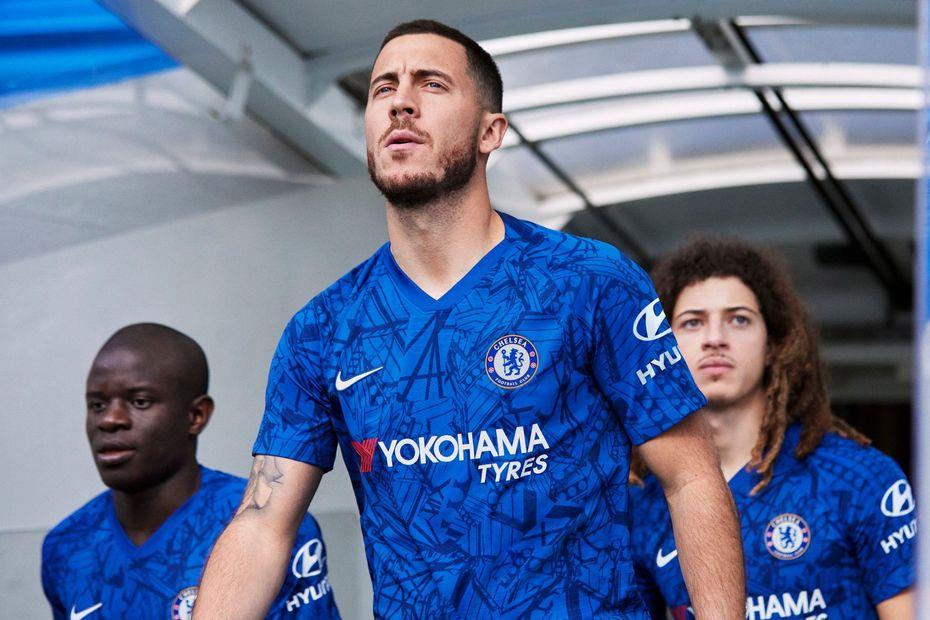 huge discount f1e8b f61fc Chelsea's new kit inspired by Stamford Bridge