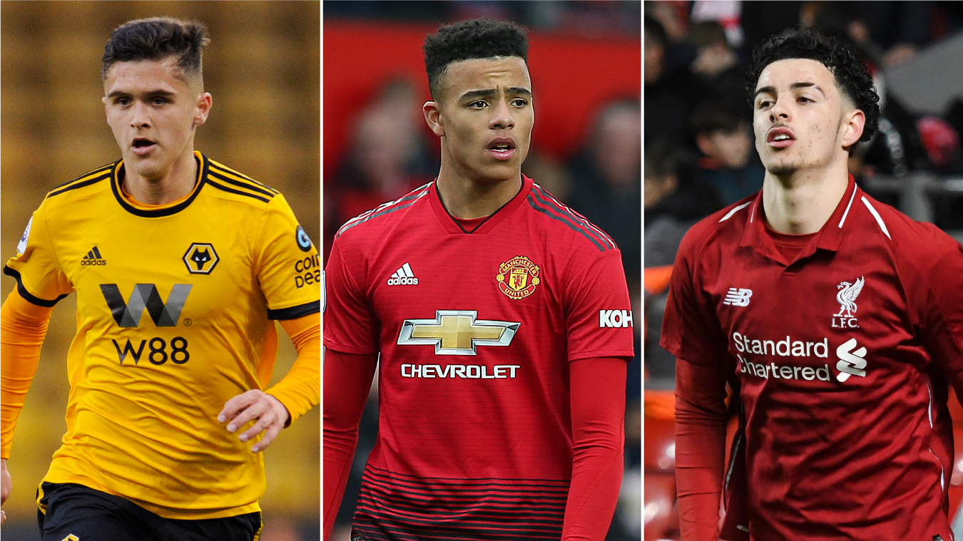 Ryan Giles, Mason Greenwood and Curtis Jones