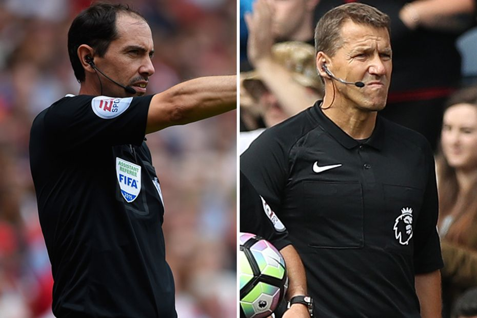 Steve Child Andy Halliday assistant referees