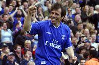 Watch Zola's sublime lob against Everton