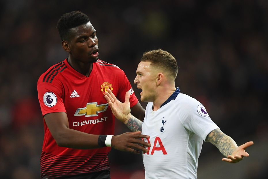 Pogba-Trippier discuss