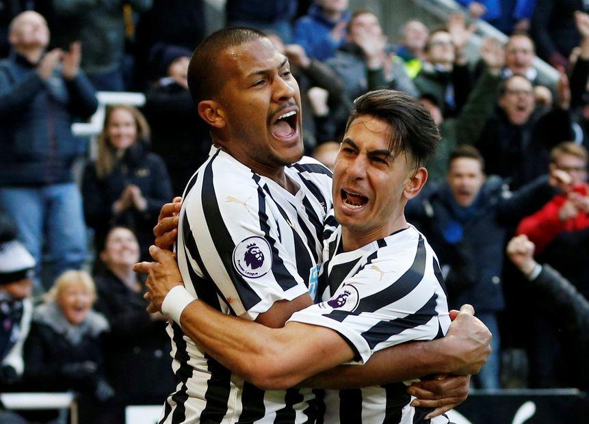 Salomon Rondon and Ayoze Perez, Newcastle