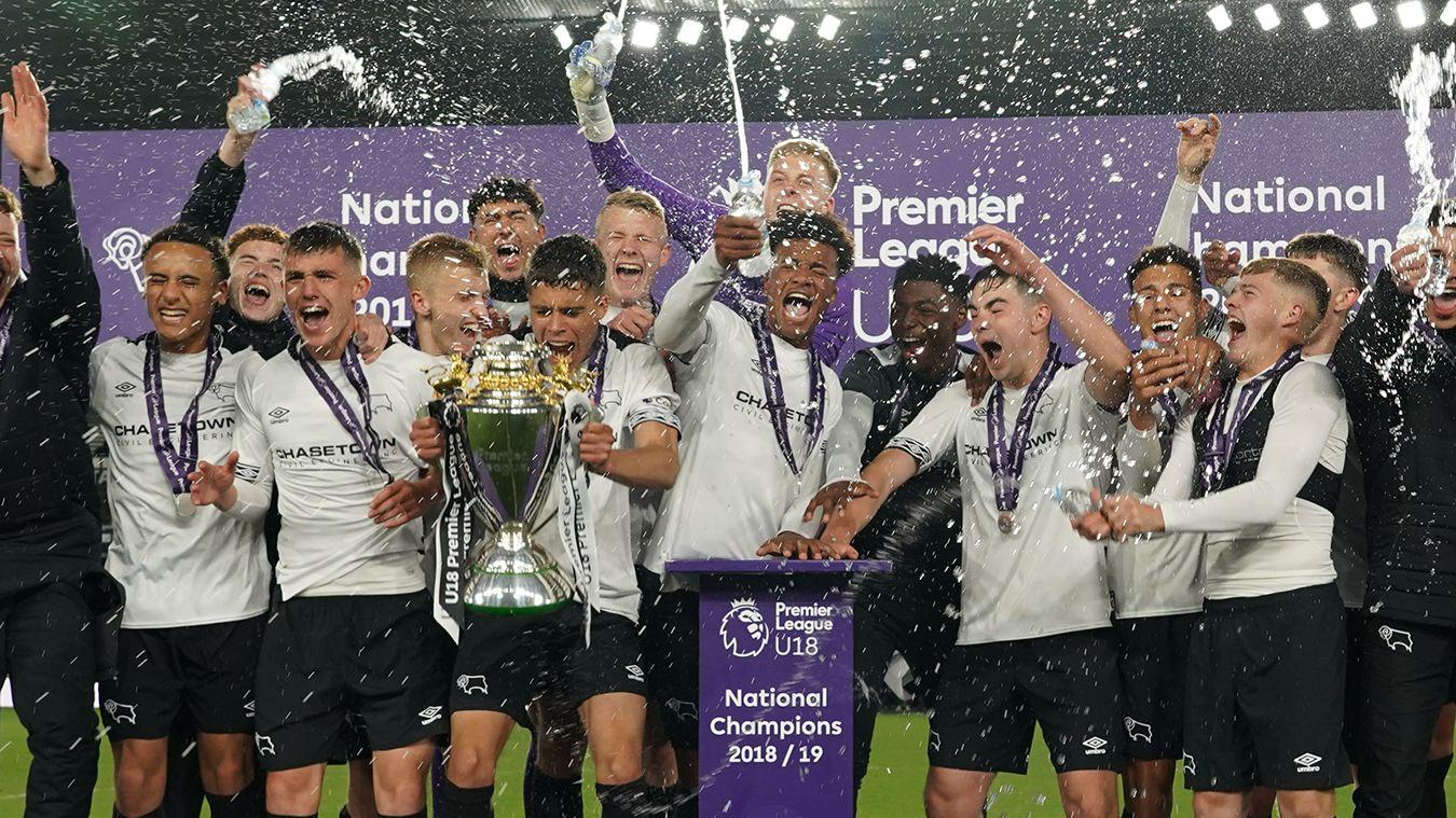 Derby County win U18 Premier League