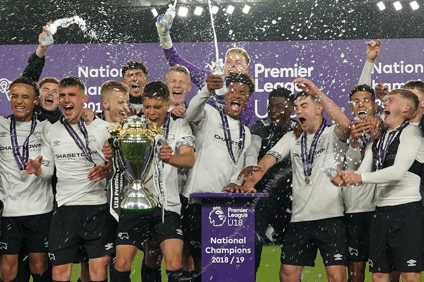 Derby County win U18 Premier League