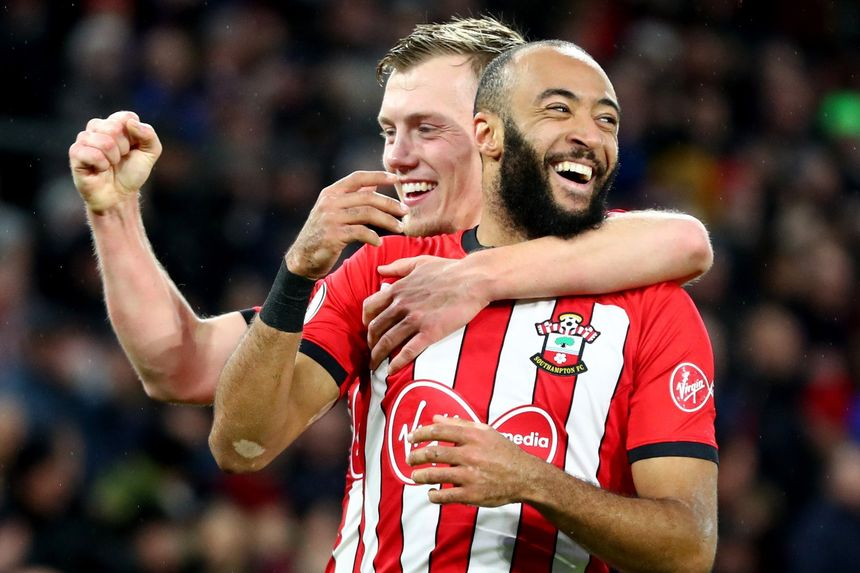 Nathan Redmond and James Ward-Prowse, Southampton