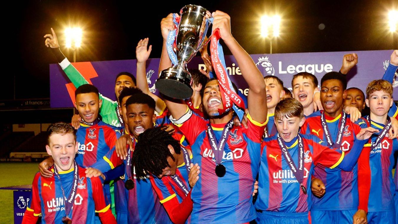 Crystal Palace Under-15s win Floodlit Cup