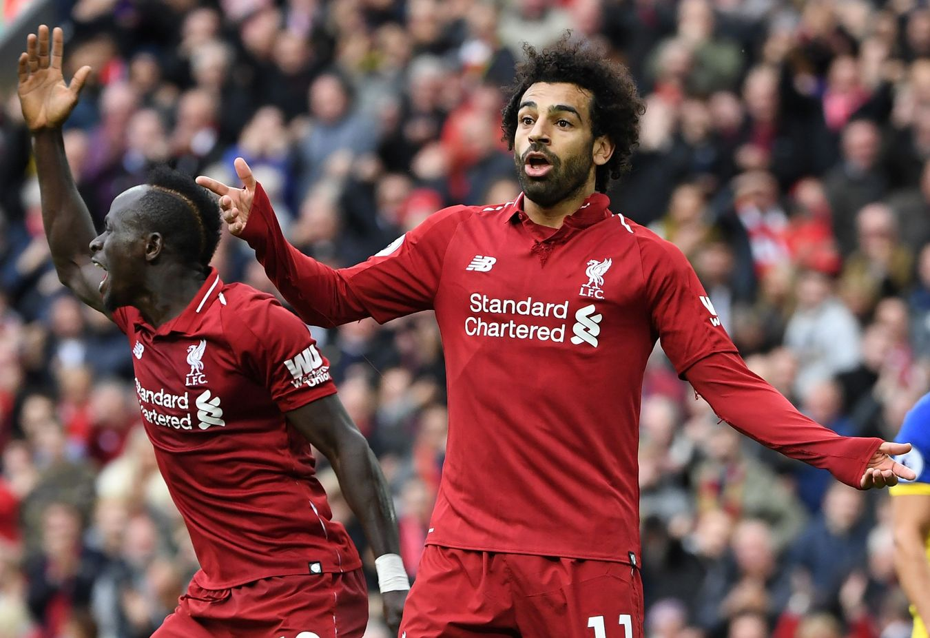 Salah and Mane, Liverpool