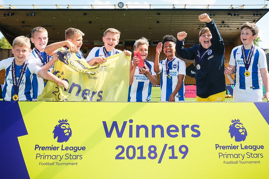 Brighton win Premier League Primary Stars Football Tournament