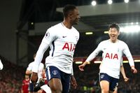 Victor Wanyama's Goal of the Month v Liverpool