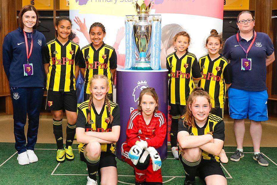Watford, Lady Bankes Junior School, Premier League Primary Stars Football Tournament