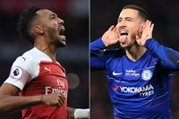 Arsenal and Chelsea's best PL goals in 2018/19