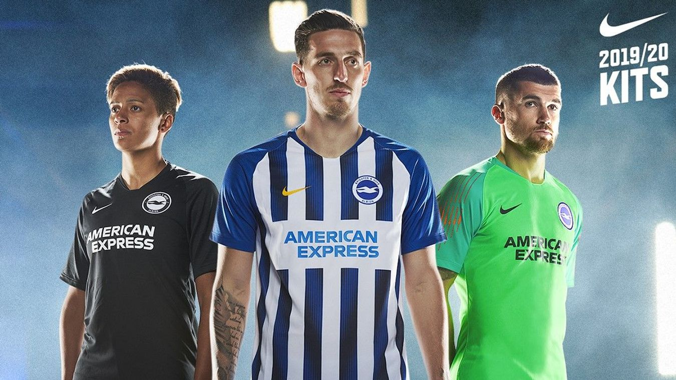 Brighton home and away