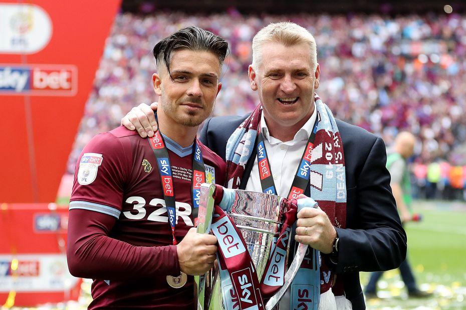 Jack Grealish Dean Smith Aston Villa playoff final