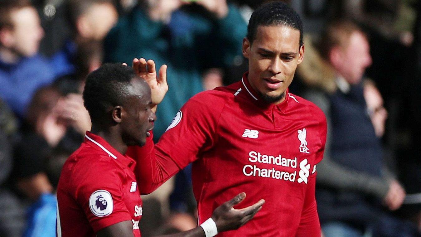 Sadio Mane and Virgil van Dijk, Liverpool