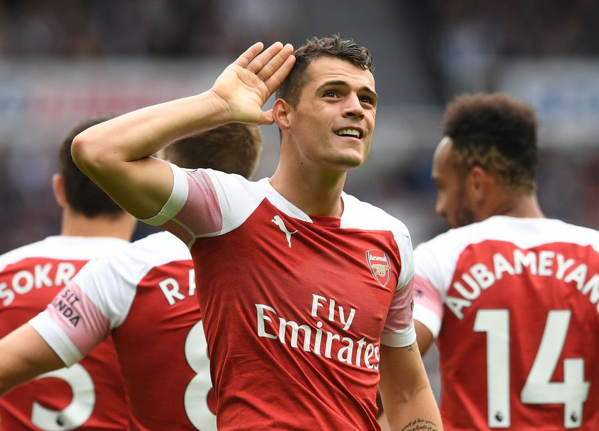 Image result for xhaka