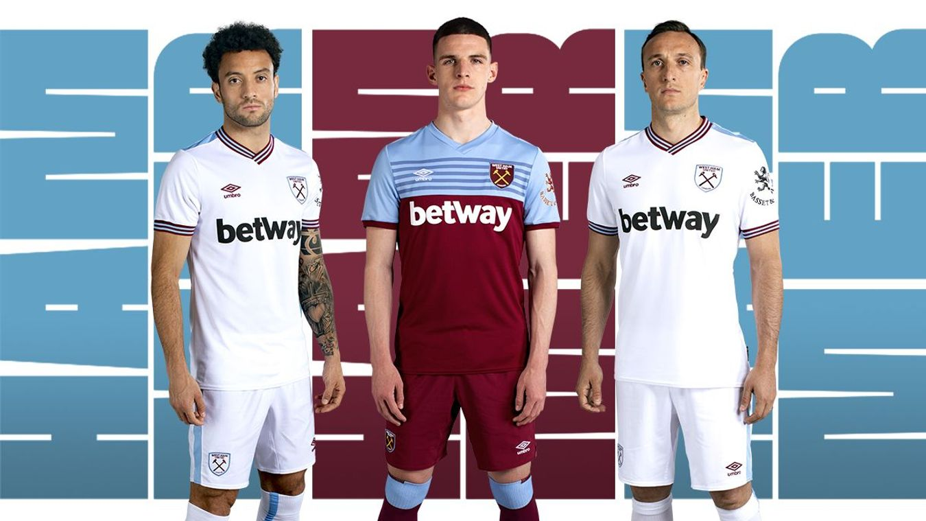 West Ham home and away