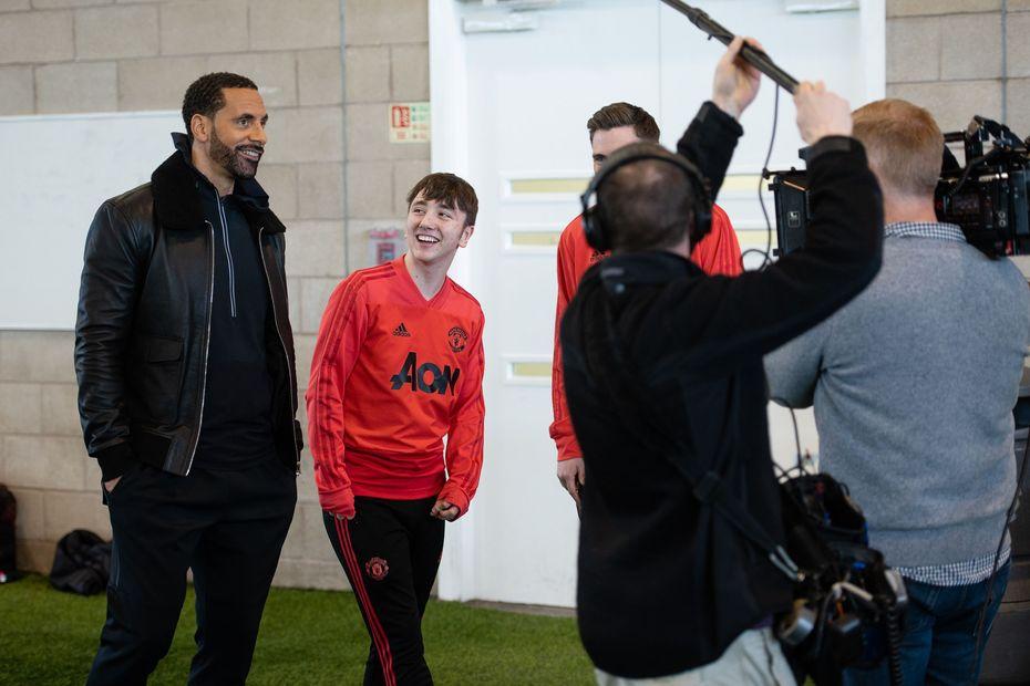 Inspiring individuals, Manchester United