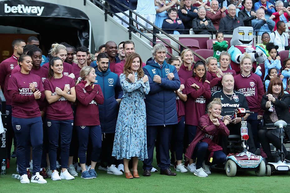 Making a difference, West Ham United