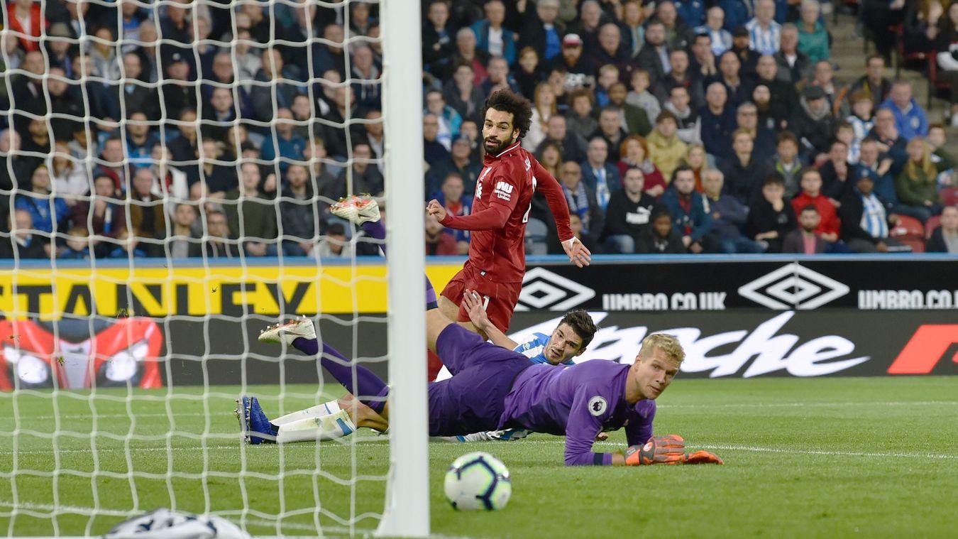 Mo Salah scores the decisive goal to maintain Liverpool's unbeaten start