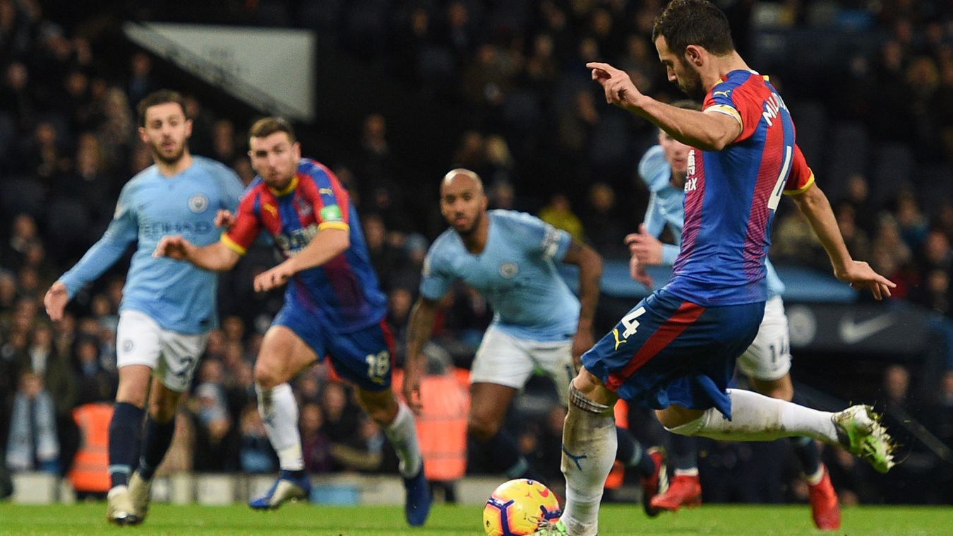 Luka Milivojevic's penalty was enough to give Palace the win